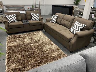 Sofa Loveseat W/ USB ON SALE🔥 for Sale in Fresno,  CA