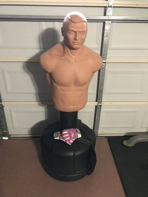 BOB Punching Bag & Medium Sized Gloves for Sale in Fort Worth, TX