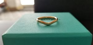 Tiffany & Co. Elsa Peretti Wedding Band 18 K Rose Gold/2 mm Wide/Size 6 for Sale in Seattle, WA
