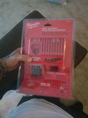 Milwaukee m12 and m18 charger for Sale in Tampa, FL