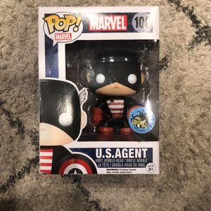 Funko Pop Marvel US Agent Captain America Comikaze Exclusive for Sale in Yorba Linda, CA