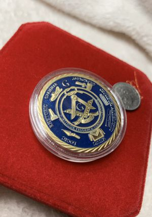 Freemasons brotherhood of man under the Fatherhood of God coin for Sale in Odessa, TX