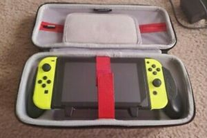 Yellow nintendo switch complete system with 7 games for Sale in West Hollywood, CA
