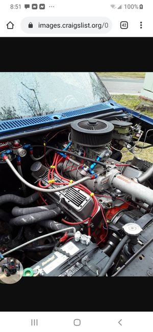 TRADE Supercharged 383 stroker Pro Street S10 for Sale in Wareham, MA
