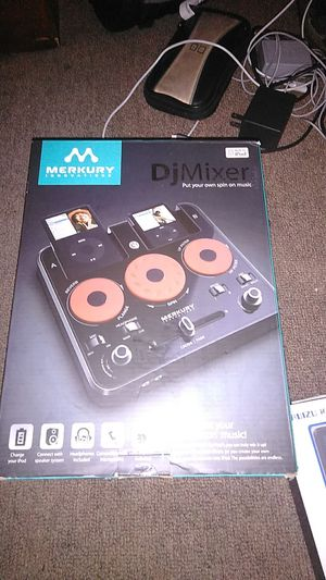 Speaker/music player/dj mixer set for Sale in Sterling, VA
