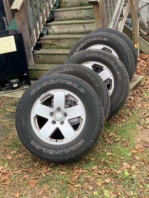18in Jeep Wrangler Sahara take offs for Sale in Hingham, MA