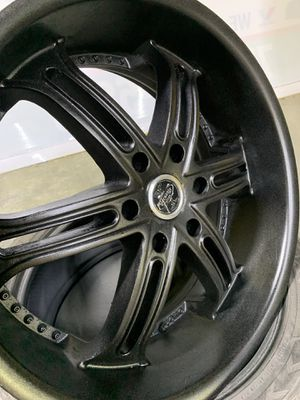 """22"""" RIMZ & TIRES 6 lugs😎😎 for Sale in Lawrenceville, GA"""