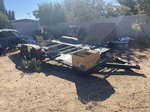 18 foot car trailer for Sale in Hesperia, CA