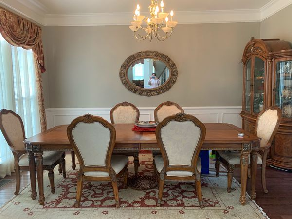 Dining Table and China Set
