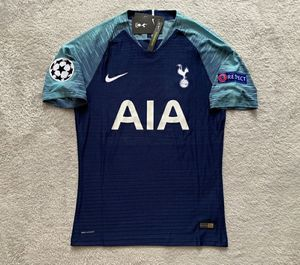 Son Tottenham Hotspur Brand New Men's Away Blue Champions League 2019 / 2020 Player Version Soccer Jersey - Size M / L / XL for Sale in Chicago, IL