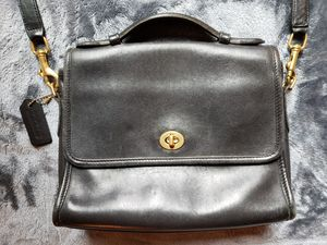 Vintage Coach Court Bag - Black for Sale in Portland, OR