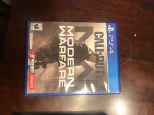 Modern warfare & Resident evil 2 PS4 for Sale in Tolleson, AZ