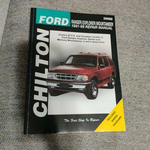 Chilton's Manual Ford Ranger/Explorer for Sale in Winder, GA