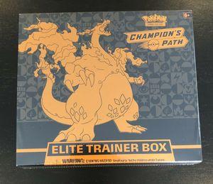 Pokemon TCG Champion's Path Elite Trainer Box for Sale in Pasadena, TX