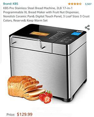 KBS Bread Machine/Bread Maker for Sale in Riverside, CA