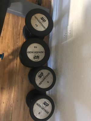 Advantage dumbbells/weights 5 & 10 lbs for Sale in Oakland, CA