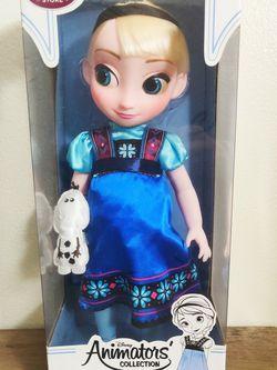 "Disney Store Frozen Elsa Doll 16"" Animator Collections for Sale in Palos Verdes Estates,  CA"