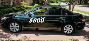 $8OO URGENT I sell my family car 2OO9 Honda Accord Sedan Runs and drives great! Clean title!!! for Sale in Richmond, VA