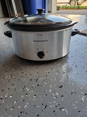 Hamilton Beach 6 quart crock pot for Sale in Fort Myers, FL