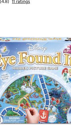 "Disney Board Game ""Eye Found It"" for Sale in Clackamas,  OR"