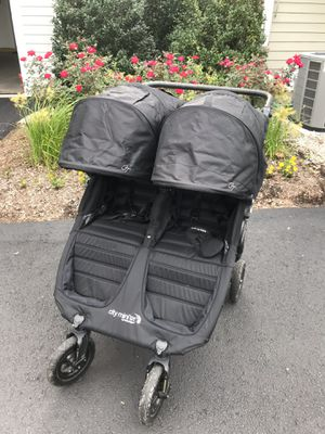 Like new Double stroller Citi Mini GT2 Baby jogger for Sale in Weymouth, MA