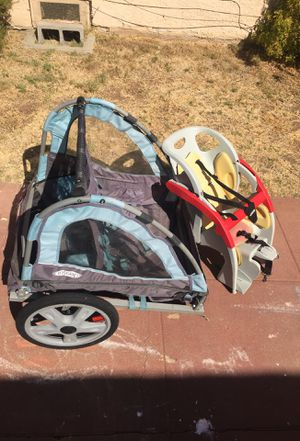 Co Pilot kids bike seat - In Step Trailer for Sale in San Diego, CA