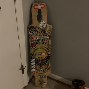 bustin boards longboard deck for Sale in Bethesda, MD