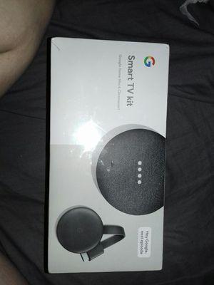 Smart TV Kit Google home mini & chromecast for Sale in Tempe, AZ