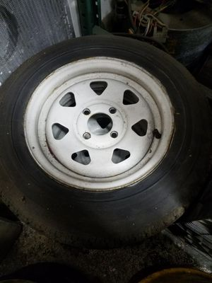 Boat or small trailer wheels for Sale in Portland, OR