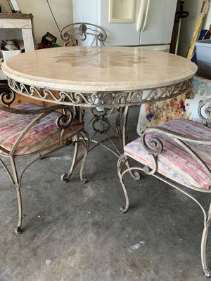 Marble top dining table for Sale in Largo, FL