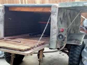 Camo Army Pop Up Sleep Camper for Sale in Santa Cruz,  CA