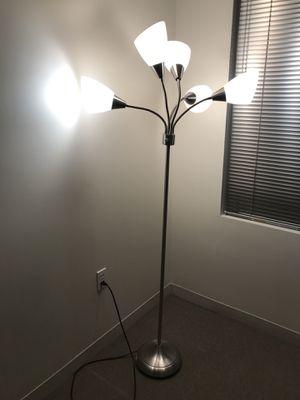 5 lightbulbs floor lamp for Sale in Boston, MA