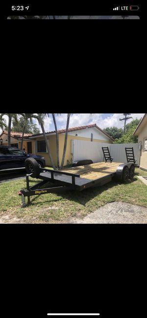 Utility trailer double axle for Sale in Miami, FL