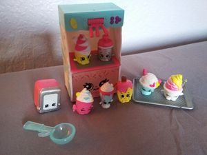 Shopkins Cool N Creamy Set Excellent Condition for Sale in Garland, TX