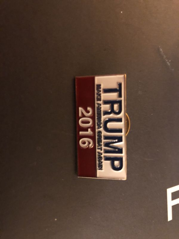 Trump Make America Great Again Lapel Pin