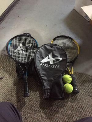 Tennis rackets and balls for Sale in McDonald, PA