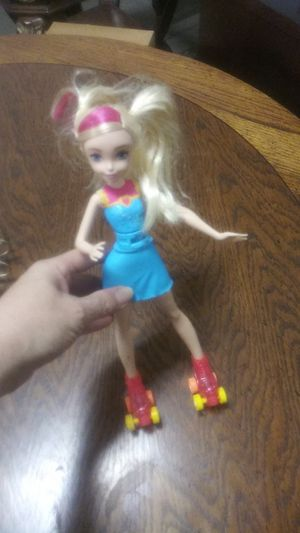 Barbie with Lightup Skates for Sale in Brook Park, OH