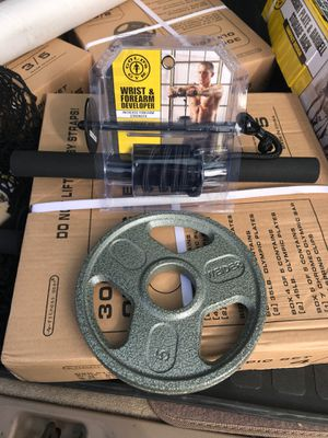 Golds gym work out Equipment for Sale in San Lorenzo, CA
