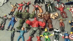 Lots of 26 Marvel action figures also have Falcon predator not pictured selling as a group I will not separate figures for Sale in Tampa, FL