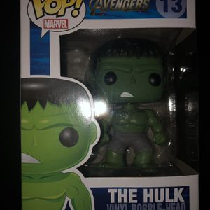 Funko POP! Avengers Hulk #13 for Sale in Nuevo, CA