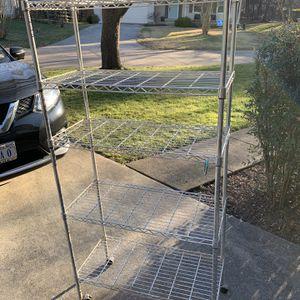 5 Shelf Wire Rack for Sale in Herndon, VA