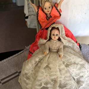 Small vintage dolls for Sale in St. Petersburg, FL
