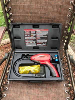 Snap-on electronic leak detector with uv blue light and glasses kit for Sale in Miami, FL