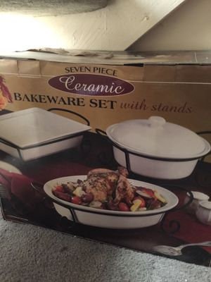 Bakeware set with stands for Sale in Garden Grove, CA