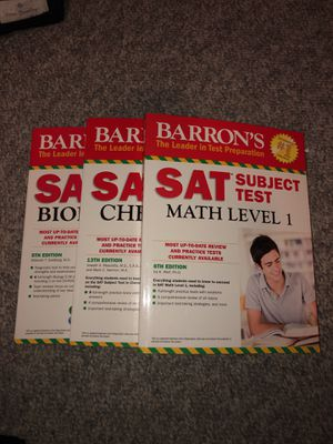SAT Subject Test Prep Books for Sale in Hudson, MA