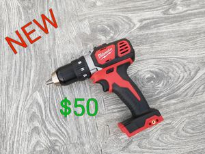 brand new Milwaukee m18 drill driver only $50 for Sale in Juniper Hills, CA