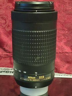 Nikon 70-300mm Lenses - Like New for Sale in Vancouver,  WA