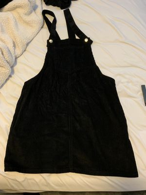 Black overall dress for Sale in Puyallup, WA