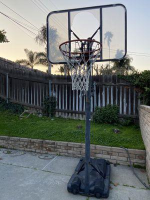 Free basketball hoop need repair or for recycle metal for Sale in Hacienda Heights, CA