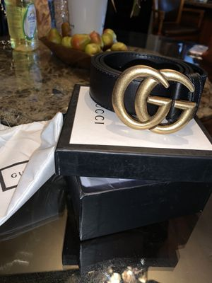 Gucci belt for Sale in Rancho Cucamonga, CA